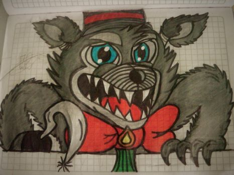 Max The Wolf (My(Random)Style) Gift For JuliArt15 by Tayma2uky