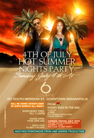 4 of july hot summer flyer by DeityDesignz