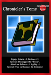 IF TCG: Chronicler's Tome by theshadowranger