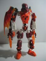 Toa Flarom by DeviantArtistMax
