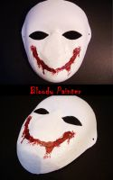Bloody Painter mask by DeluCat