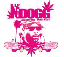 R.I.P Nate Dogg by SeanJJ