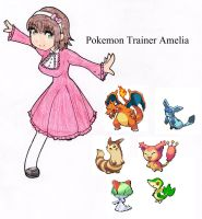 Amelia's trainer card by SwimFree