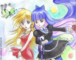 Panty and Stocking by Kythana