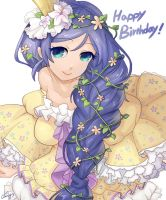 Happy Birthday to Nozomi! by amy30535