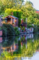 Canal summer house by teslaextreme