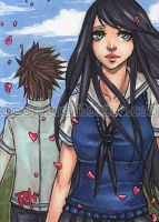 aceo - school days by pencil-butter