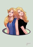 Twins by Igloinor