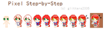 [ Pixel Step-by-Step Process ] by ATEL1ER