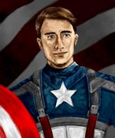 Captain America by GlassEyeSphynx