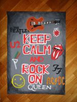 Keep calm and rock on by pringlesaddict99