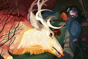 The King and the Stag by Nafah