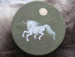 Unicorn Drum by CindarellaPop