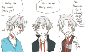 Twins~K Project,DGM,NO.6 by IceSugarTeaSweet