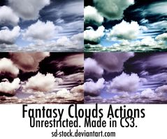 Fantasy Clouds Actions by sd-stock
