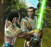 SWTOR - On the traning grounds by JaneShepard89