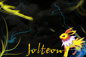 Jolteon Wallpaper by SlaveWolfy