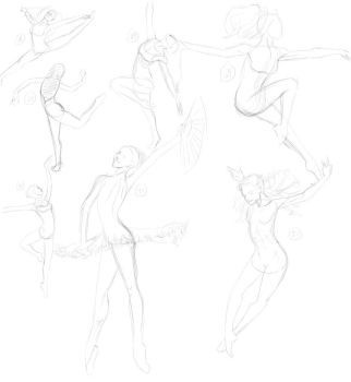 1000 gestures - 26 to 31 by JR-Lo