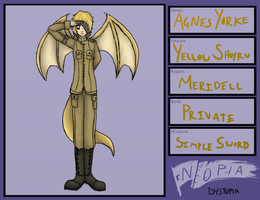 Worst name ever- Agnes by RobotsWithCookies