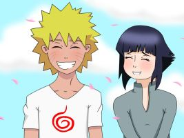 COLLAB NaruHina by Demon-Twin