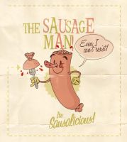 the Sausage man by paulorocker