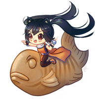 Crossover - May Azunyan Chibi by cubehero