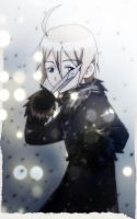 + APH: Male!Belarus in Snow + by Serket-XXI