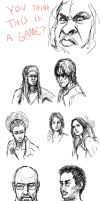 Real People Sketches by PhiTuS