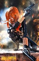 Black Widow by IssssE