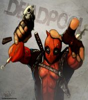 Deadpool reedited by juliodelrio