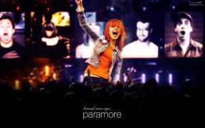 Wallpaper O2 Paramore by LuzLaura98