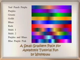 ATF Tutorials Gradient Pack by wolfepaw
