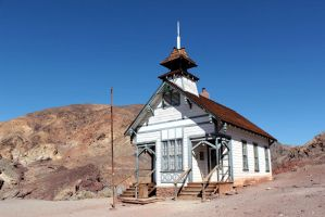 Calico Schoolhouse II by patrick-brian
