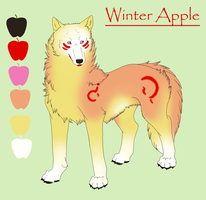 Winter Apple by KamiraWolfDemon