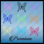 Butterfly clipart by TinaLouiseUk