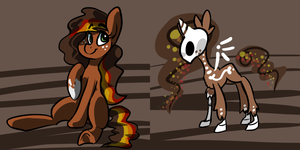 Death Pony Cali Leaves by misa-acar
