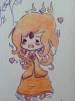 Flame Princess. by KittyNekoEars