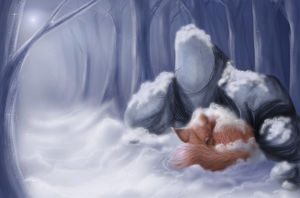 Midwinter Nap by Kaylink