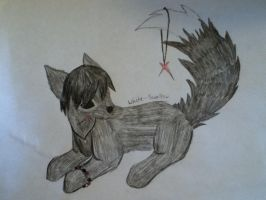 Siver-Paw -Art Trade- by White--Swallow