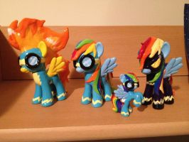 All of my MLP Bolts by Nsomniotic