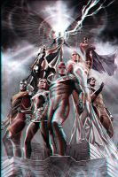 X-Men Anaglyph by xmancyclops