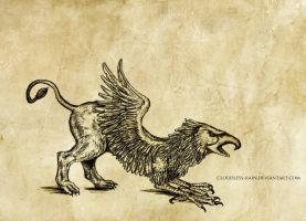 Griffin by Cloudless-Rain