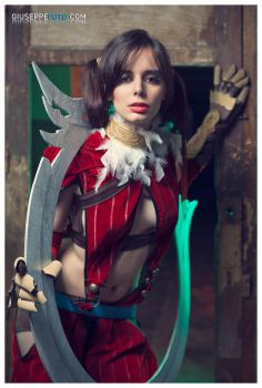 TIRA - Soul Calibur IV - 02 by ThelemaTherion