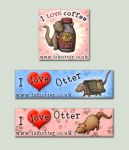 Otter Banners by samuel123