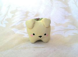 Dog Planter Figure by PinkChocolate14