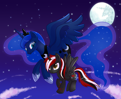 Midnight Fly by IEatedAUnicorn