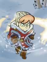 Odric's Winter Armor by Crazyskull