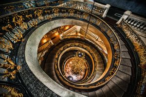 Spiral staircase by Tairenar