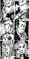 Avengers artist trading cards part 2 by dances-with-hipsters