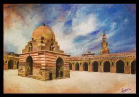 Ibn Tulun Mosque.. by e-Zoghby